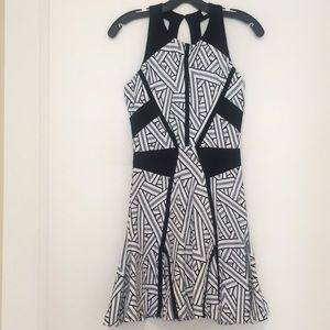 Parker Dresses - NEW Parker Black & White Mini Dress XS